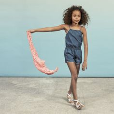 Discover the latest Skirts, Shorts collection in the Official Online Store of French Clothing Brand IKKS. French Clothing Brands, Ikks Kids, Denim Playsuit, Short Skirts, Overall Shorts, Jeans, Overalls, Children, Clothes
