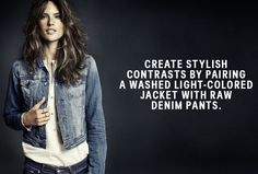 H And M Denim Jacket - Fall 2013 Denim Trends with H&M Divided and Alessandra Ambrosio