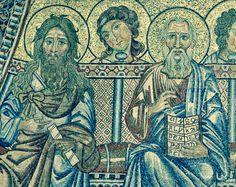 Mosaïques du Baptistère. Le jugement dernier : 22b. Les apôtres