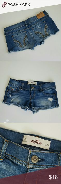 Hollister Shorts Distressed denim Hollister Shorts Jean Shorts