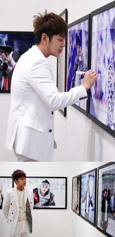 Jang Geun Suk aparecio con su nuevo look y recibe un gran regalo de sus fanaticos ~ Viajando por el mundo POP - Espacio Kpop