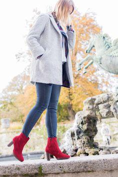 Diese roten Paul Green Hingucker machen jedes Outfit zu einem Highlight. #wejustlovethem #paulgreen #derschuhmeineslebens #red