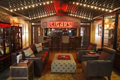 Cigar/bar lounge... best social arena