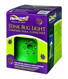 Rescue SBTLDT8 Stink Bug Light Attachment by Sterling Rescue. $11.45. Insects dehydrate for easy disposal. Stink bug light attachment. Non-toxic mode of action. Trap and light work on their own without rebaiting. Special blue LED attachment that fits over the Rescue stink bug trap. The rescue stink bug light is a special blue LED attachment that fits over the rescue stink bug trap. Non-toxic mode of action. Trap and light work on their own without re baiting. No odor, no me...