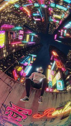 【人気14位】不思議な夜景 | iPhoneX,スマホ壁紙/待受画像ギャラリー