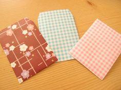 折り紙ポチ袋の作り方