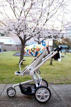 Quinny Moodd Stroller, Black Irony: Baby