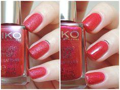 Kiko 453 Cherry Red - Sugar Mat