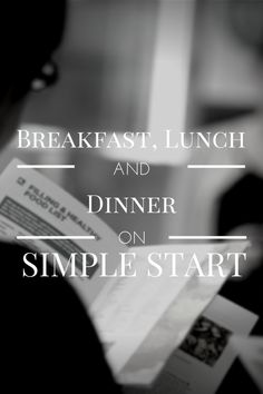 Weight Watchers Simple Start Meal Ideas, Breakfast Lunch Dinner #diet #weightwatchers @wwatchersuk