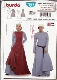 Burda 7977 - Sideless Surcoat pattern. I have this on hand and really like it.