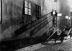 Josef Sudek. Forgotten street 1930 (B&W) ı