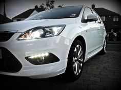 Ford Focus 2011 Onwards Polished Stainless Steel Kick Plates Sill Protectors