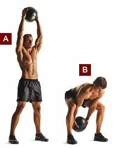 Medicine Ball Workout For The Tough Guy | Men's Health Singapore