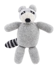 A stuffed raccoon for the little ones from The Little Market