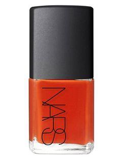 #NARS #NailPolish in Lal Mirchi is the perfect #pumpkin hue to sport all #autumn long! #NailedIt #Nails