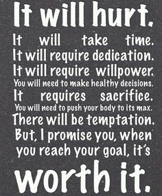 it's worth it!