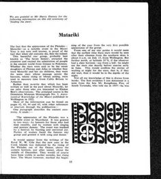 Matariki - (Te Ao Hou - No. 61 December 1967) - Alexander Turnbull Library