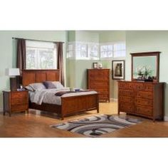 Queen Panel Bedroom Suite BFC1001Q by Winners Only in Portland, Lake Oswego, OR