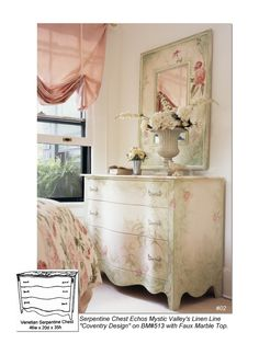 Mystic Coventry Bedroom Set  CustomMade by Jane Harrington