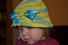Baby hat by ©Basia's Hat Factory / #crochetSF