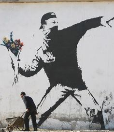 Banksy. i kind of love this.