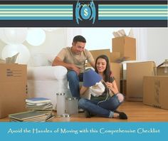 Avoid the #Hassles of Moving with this Comprehensive #Checklist For More Visit At :https://goo.gl/7hmIrZ