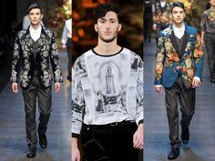 Dolce & Gabbana FW 2014   Milano Fashion Week Man