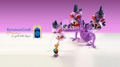 Paper Art Quilling Disney Hercules VS Hydra by kyomoncraft