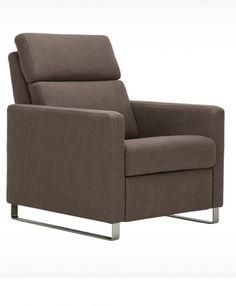 Fabric modern recliners