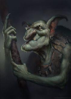 Goblin Shaman, Jonas Jensen on ArtStation at http://www.artstation.com/artwork/goblin-shaman-0a3953bc-f856-476b-a763-210455cabca4