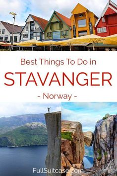 Wondering what to see in Stavanger? Don't miss any of the highlights with this complete guide to the best attractions and things to do in Stavanger Norway. Includes itinerary suggestions for 1 to 4 days. Oslo, Lillehammer, Europe Travel Guide, Europe Destinations, Bergen, Stavanger Norway, Kristiansand Norway, Places To Travel, Places To Visit