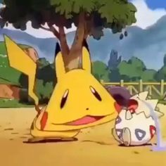 Adventure Time 94294185936297187 - Pikachu and Togepi Source by Pokemon Manga, Pokemon Gif, Pokemon Funny, Pokemon Videos, Pokemon Logo, Pikachu Drawing, Pikachu Art, Cute Pokemon Wallpaper, Cute Cartoon Wallpapers