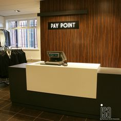 Barbours Dumfries   Menswear Department   Design and Build by JSA