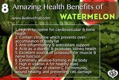 watermelon, benefits of