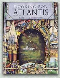 Looking For Atlantis by Colin Thompson. I thought I already owned all of his children's picture books but it looks like I don't. Love, love, love his illustrations!