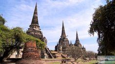 Wat Phra Sri Sanphet - Check more at http://www.miles-around.de/asien/thailand/ayutthaya-willkommen-in-sin-city/,  #Ayutthaya #Flutkatastrophe #Reisebericht #schwimmendeMärkte #Tempel #Thailand #WatMahathat #WatPhraSriSanphet #WatRatBurana