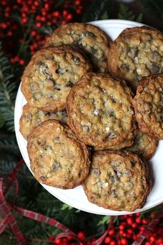 Savor Home: SALTED OATMEAL CHOCOLATE CHIP COOKIES...