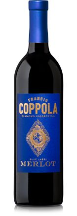 Francis Coppola Diamond Collection Merlot ($15.99) - intense aromatics of raspberry and blueberry lead to flavors of crushed berries, vanilla and leather, wrapped up in a soft, smooth tannin structure