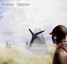 Water vapor to transform African desert to land for agriculture