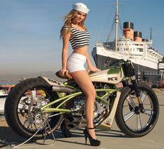 Rockabilly Pullover Marilyn Angel Pinup Biker Vintage Tattoo V8