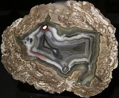 Spanish Stirrup Rock Shop: Thunderegg / Geode - Baker Ranch - New Mexico - Product BR3209