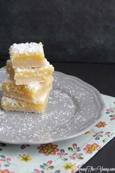 Lemon Bars I think these look the most accurate...