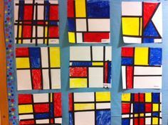 An Art Project Set to Music: Mondrian and Boogie Woogie :: PragmaticMom