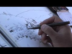 Paint your favorite views in Watercolor, Pen & Ink with these helpful Urban Sketching Techniques <<--http://bit.ly/1GvAOd2