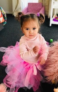 This cute wee lady is rocking our longer style princess tutu and looks totally adorable! Princess Tutu, Happy Girls, Flower Girl Dresses, Wedding Dresses, Lady, Style, Fashion, Tutus, Bride Dresses