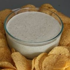Creamy Jalapeno Dip 1 cup mayo 1/3 cup buttermilk 1/3 cup sour cream 4oz can diced jalape?o 4oz can diced green chili 1/3 c chopped cilantro 1oz pkt dry ranch mix 1/2 t minced garlic. Blend in blender. Serve with chips or veggies delicious.