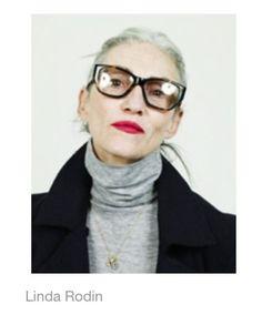 LINDA RODIN, my new style icon after Jenna Lyons.