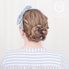 Photo by M i a Rope Braid, Braided Updo, Updos, Hair Makeup, Braids, Dreadlocks, Hairstyles, Photo And Video, Beauty