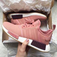 Adidas NMD pink Source by wassupkicks Nmd Sneakers, Sneakers Mode, Sneakers Fashion, Adidas Sneakers, Adidas Nmds, Adidas Shoes Women Nmd, Adidas Nmd Outfit, Instagram Shoes, Adidas Instagram