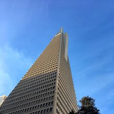 Transamerica Pyramid - San Francisco #architecture #transamericapyramid #sanfrancisco #california #iphoneonly #nofilter